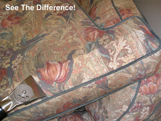 Upholstery Cleaning See The Difference